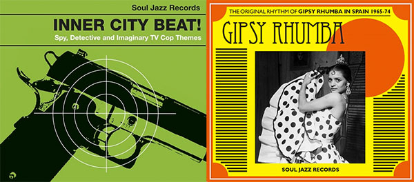 Soul Jazz Records Inner City Gipsy Rhumba