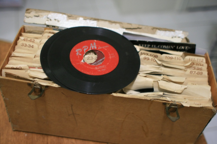 45s by Craig Moore (CCBY)